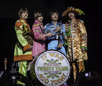 The Fab Four Poster