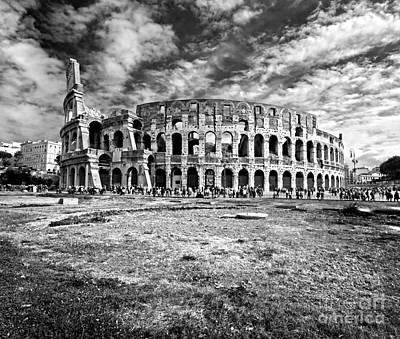 The Majestic Coliseum - Rome Poster