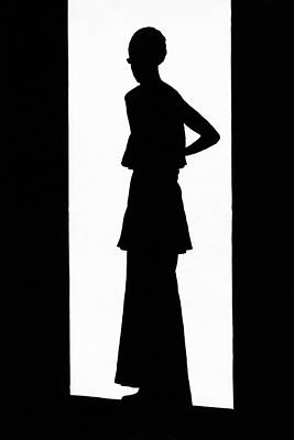 The Silhouette Of A Woman Poster