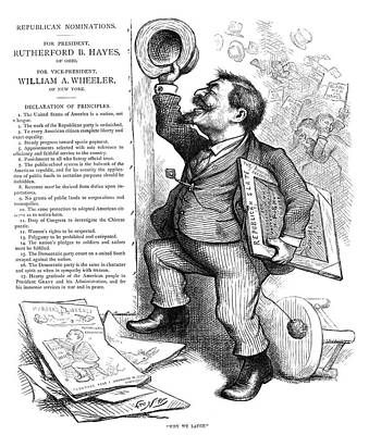 Thomas Nast (1840-1902) Poster by Granger