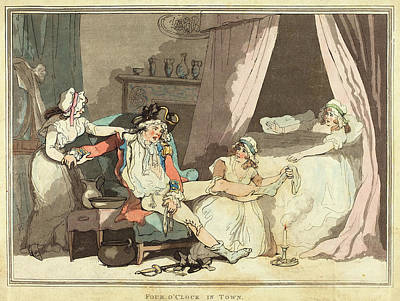 Thomas Rowlandson British, 1756 - 1827 Poster