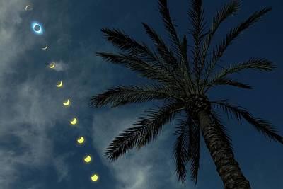 Total Solar Eclipse Poster by Detlev Van Ravenswaay