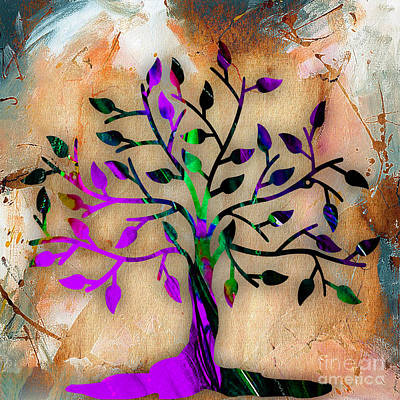 Tree Of Life Painting Poster