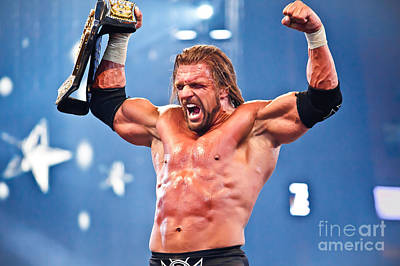 Triple H Poster by Wrestling Photos