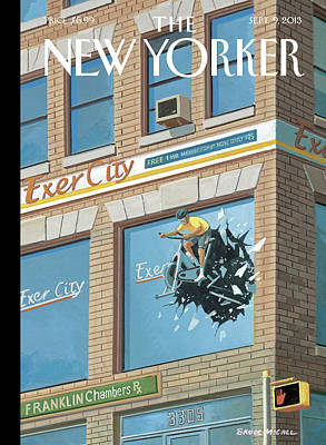 New Yorker September 9th, 2013 Poster by Bruce McCall