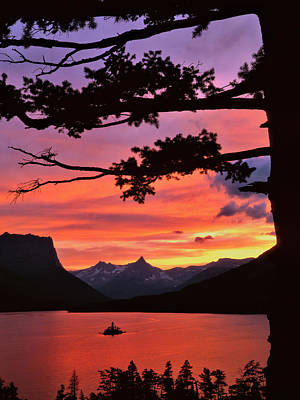 Usa, Montana, Glacier National Park Poster by Jaynes Gallery