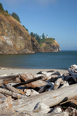 Wa, Cape Disappointment State Park Poster by Jamie and Judy Wild