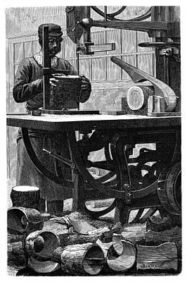 Wheel Manufacturing Poster