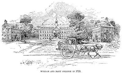 William And Mary College Poster