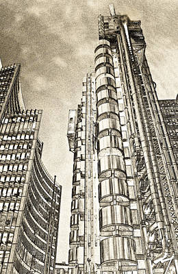 Willis Group And Lloyd's Of London Art Poster