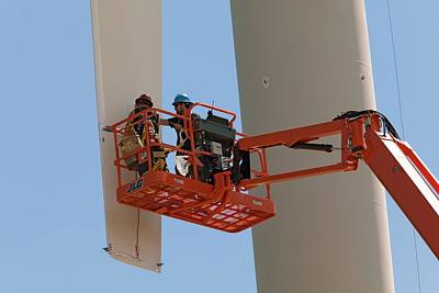 Wind Power Research Poster by Jim West