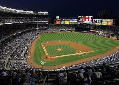 Yankee Stadium 3 Poster by Allen Beatty