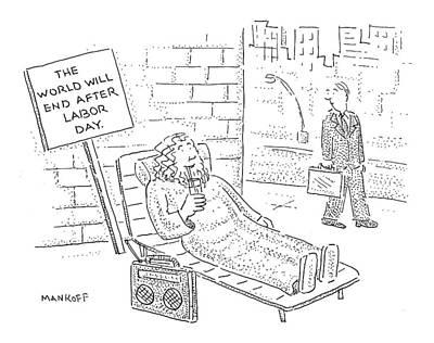 New Yorker September 4th, 2006 Poster