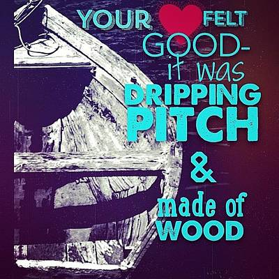 Dripping Pitch Poster by Paige Edwards