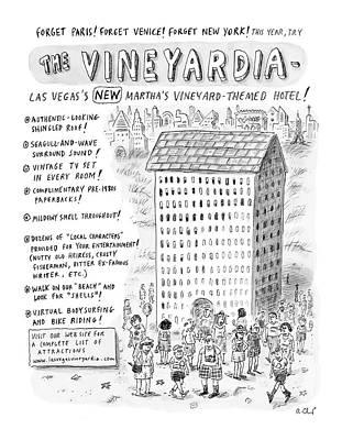 The Vineyardia Poster