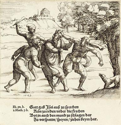 Augustin Hirschvogel German, 1503 - 1553 Poster by Quint Lox