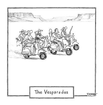 The Vesparados Poster by Matthew Diffee