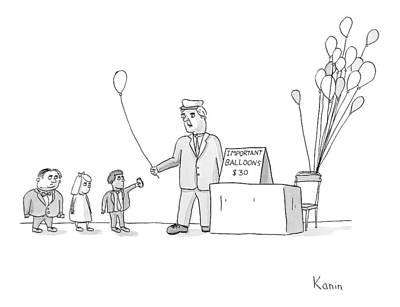 New Yorker November 27th, 2006 Poster by Zachary Kanin