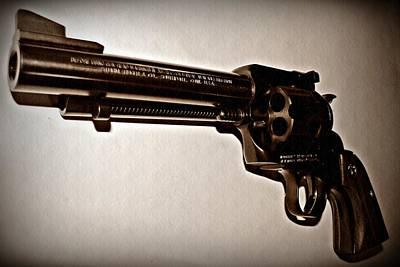 44 Magnum Poster by David Dehner