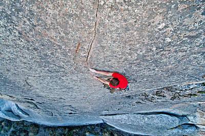 Rock Climb Poster