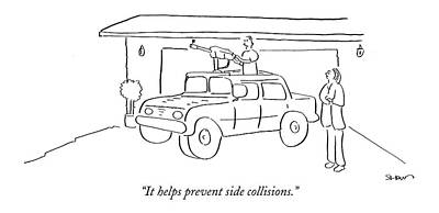 It Helps Prevent Side Collisions Poster