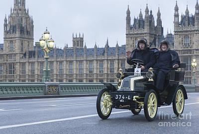 London To Brighton Veteran Car Rally Poster