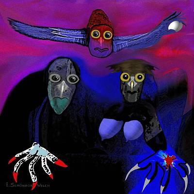 476 -   Owl Family Poster