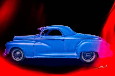 48 Dodge Salesman Coupe Rat Rod Poster