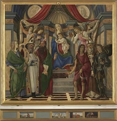 Italy, Tuscany, Florence, Uffizi Poster by Everett