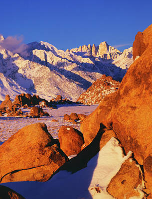 Usa, California, Sierra Nevada Mountains Poster by Jaynes Gallery