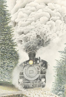 486 In The Snow Poster