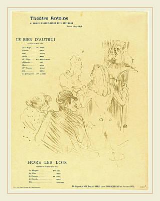 Henri De Toulouse-lautrec French, 1864-1901 Poster