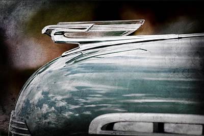 1940 Chevrolet Hood Ornament Poster by Jill Reger