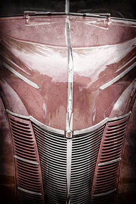 1940 Ford Deluxe Coupe Grille Poster