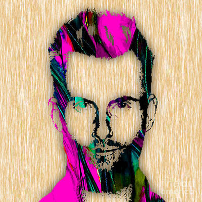 Adam Levine Poster by Marvin Blaine