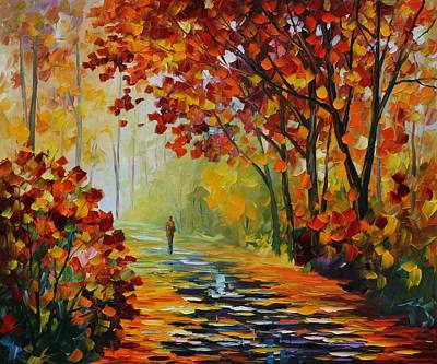 After The Rain Poster by Leonid Afremov