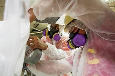 Asbestos Removal Training Poster