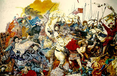 Battle Of Grunwald Poster