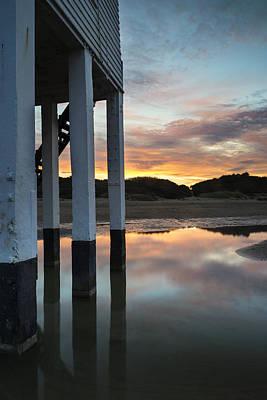 Burnham Lighthouse Landscape Image Sunrise Summer Poster by Matthew Gibson