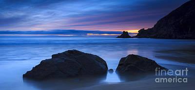 Campelo Beach Galicia Spain Poster