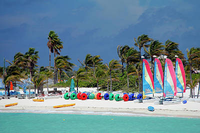 Caribbean, Bahamas, Castaway Cay Poster by Kymri Wilt