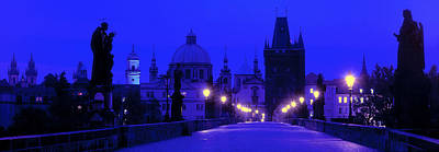 Charles Bridge, Prague, Czech Republic Poster by Panoramic Images