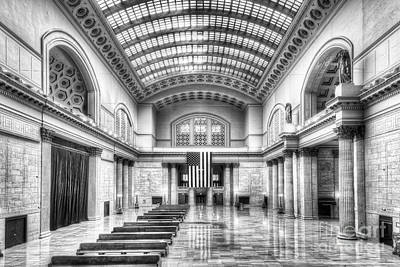 Chicago's Union Station Poster by Twenty Two North Photography