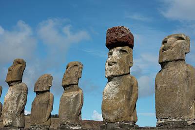 Chile, Easter Island, Hanga Nui Poster