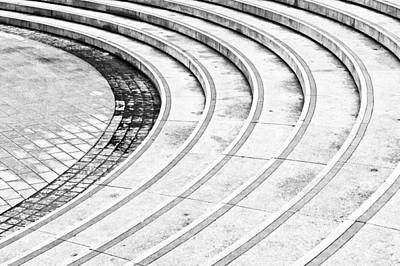 Concrete Steps Poster by Tom Gowanlock