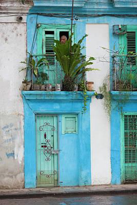 Cuba, Havana, Havana Vieja, Old Havana Poster by Walter Bibikow