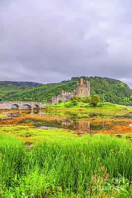 Eilean Donan Castle Poster by Patricia Hofmeester