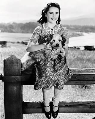 Elizabeth Taylor Poster by Silver Screen