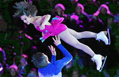 Meagan Duhamel And Eric Radford Poster by Don Kuing