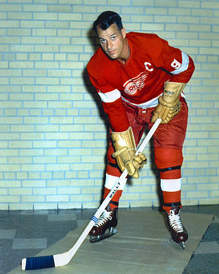Gordie Howe Poster by Retro Images Archive